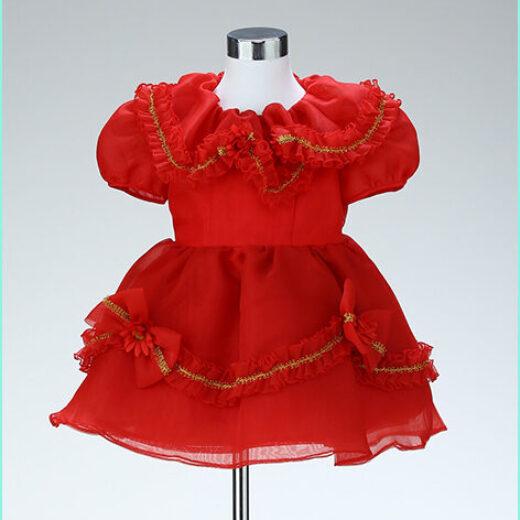 みなみフォトデザイン貸衣装3歳ドレス15