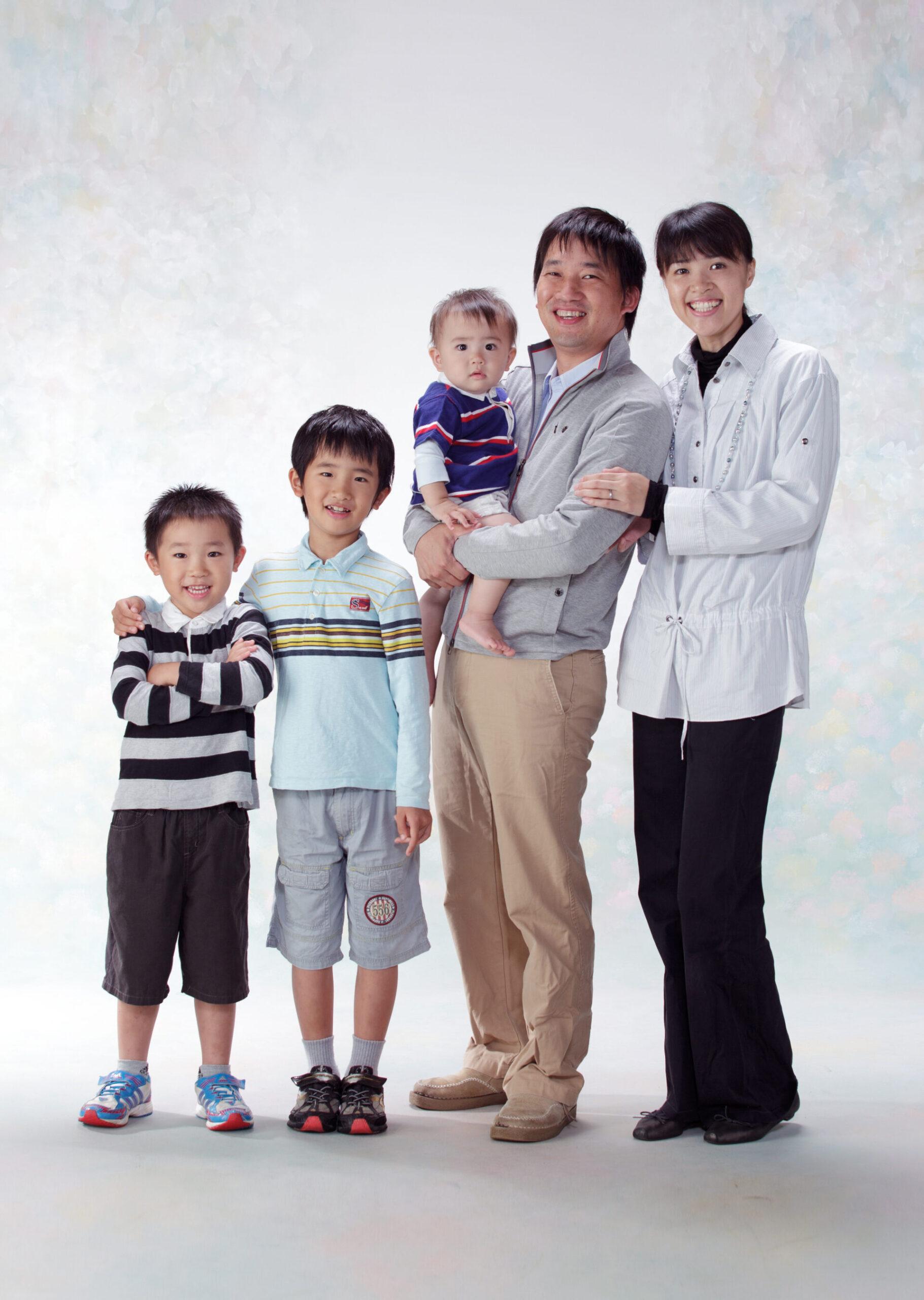 みなみフォトデザイン家族写真