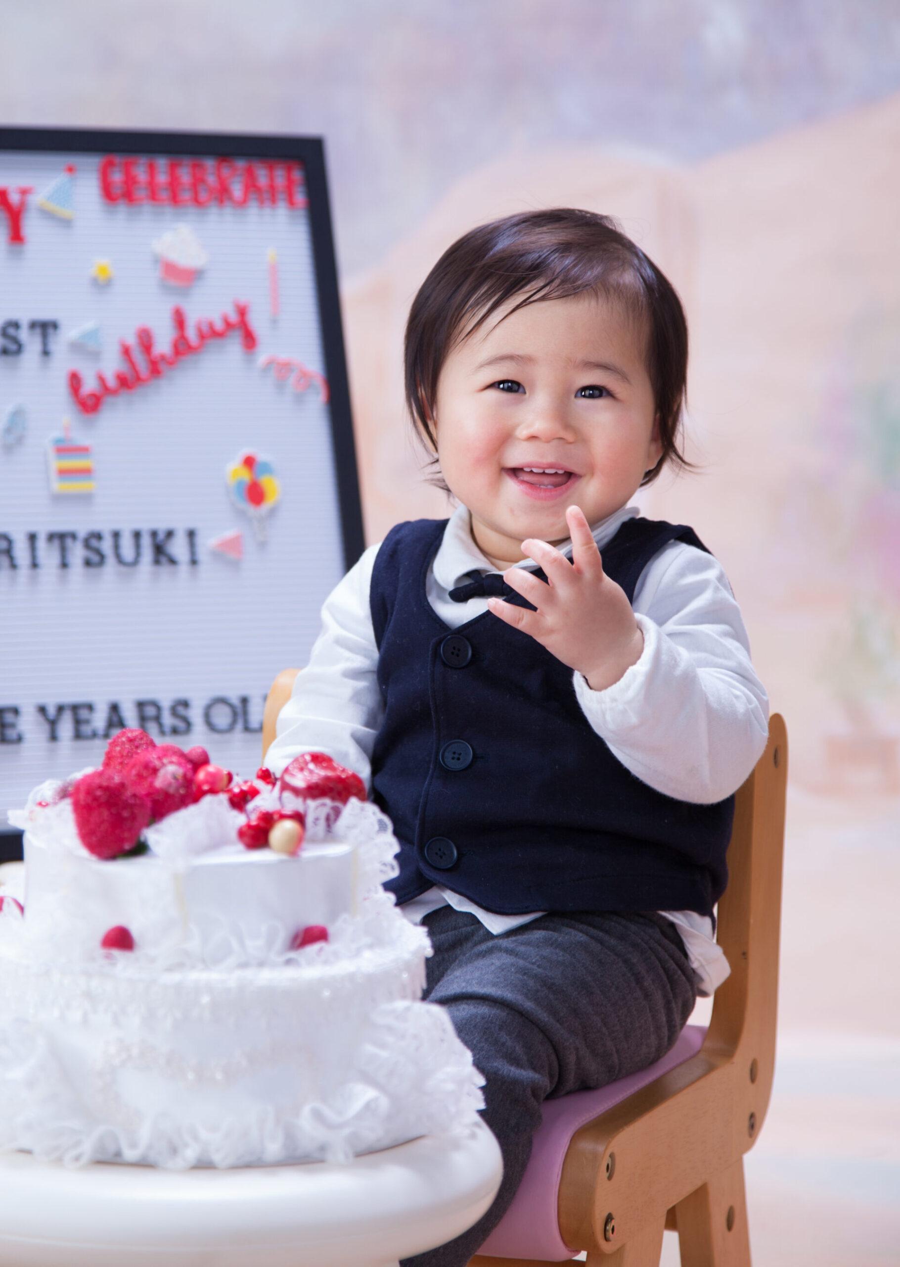 みなみフォトデザインお誕生日写真